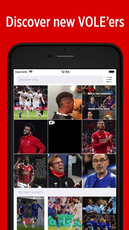 VOLE - Sports Social Network screenshot-4