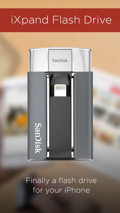 SanDisk iXpand™ Sync