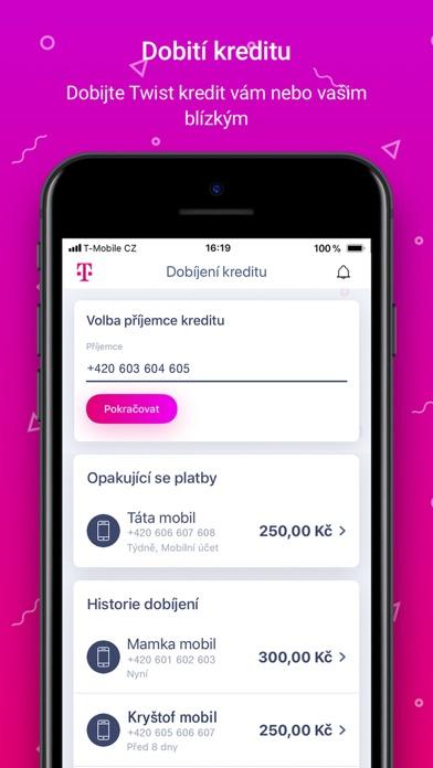 Screenshot for Můj T-Mobile in Czech Republic App Store