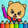 Baby coloring book for kids 2+ - Bimi Boo Kids - Games for boys and girls LLC