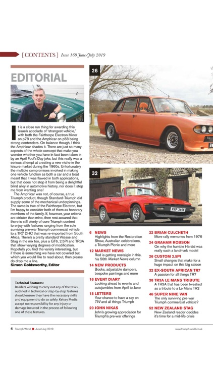 Triumph World Magazine screenshot-3