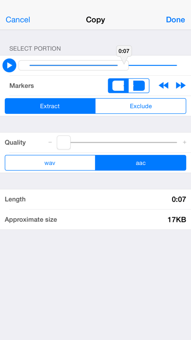 Audio Memos Screenshots