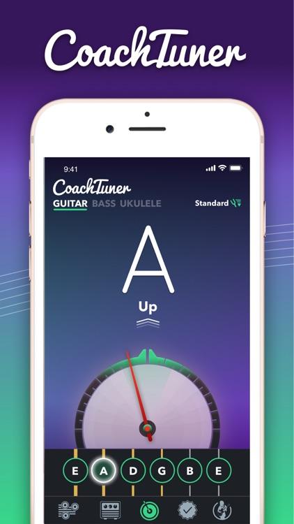 Guitar Tuner Easy tune chords screenshot-0