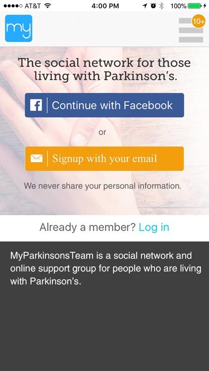 Parkinson's Social Network