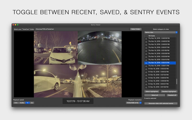 Sentry Viewer for Mac