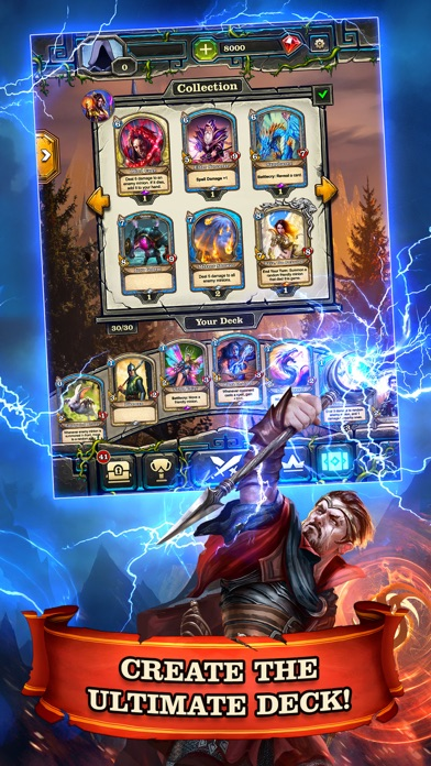 Mighty Heroes CCG screenshot 5