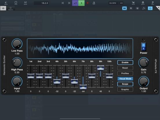 Harmonic Exciter AUv3 Plugin screenshot 5