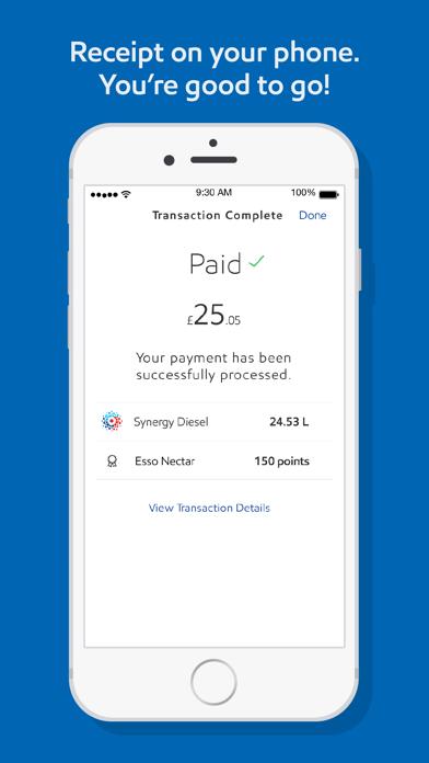Esso: Pay for fuel, get points screenshot four