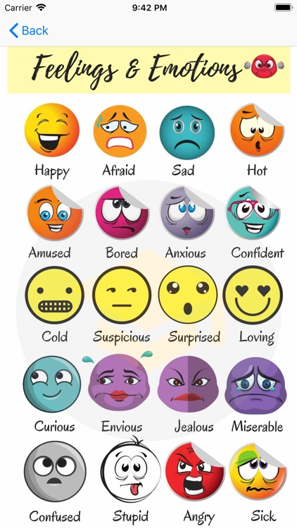 Feelings & Emotions Vocabulary screenshot-4