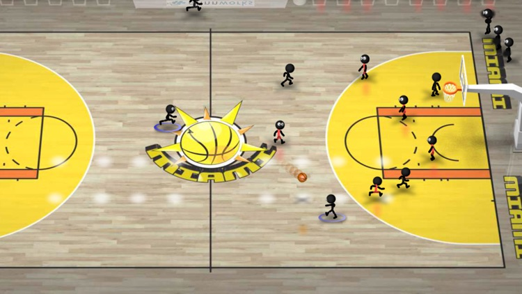 Stickman Basketball screenshot-1