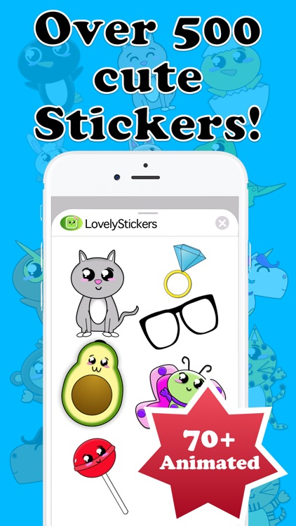 Lovely Stickers for iMessage!