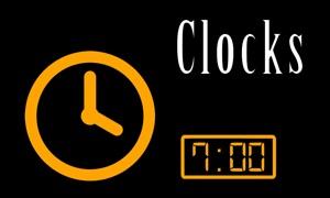 TV Clocks