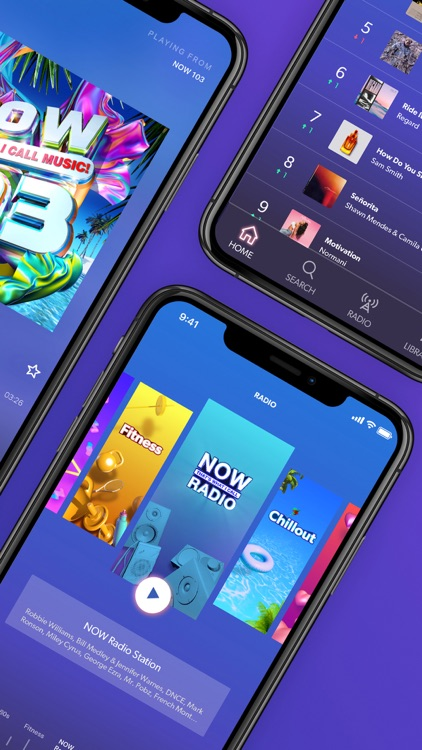NOW Music - Music Player App
