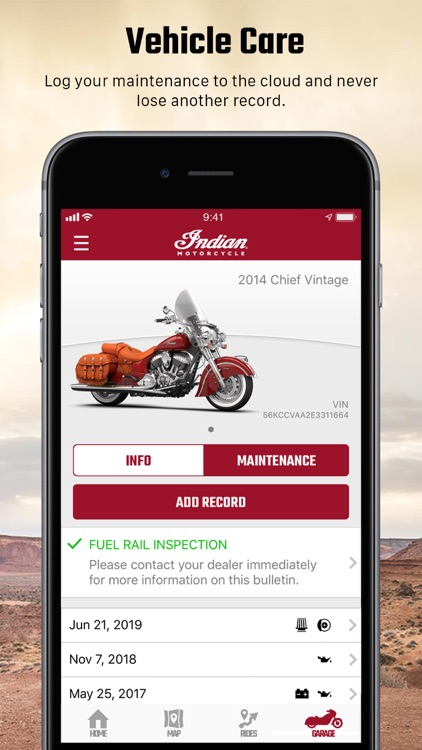 Indian Motorcycle Ride Command screenshot-4