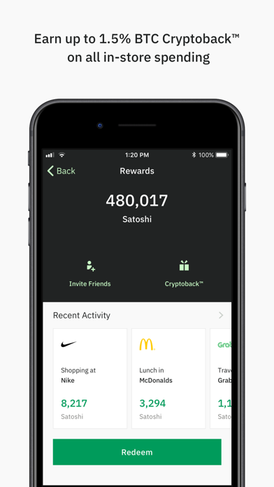 Wirex. BTC Debit Card & Bitcoin Wallet screenshot