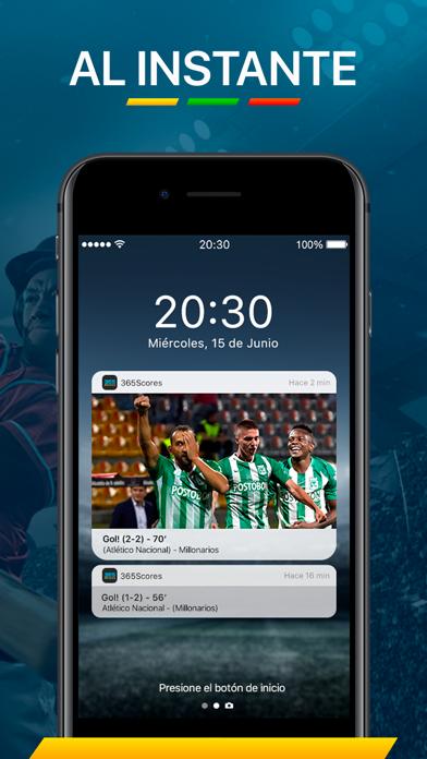 Screenshot for 365Scores - Resultados en vivo in Argentina App Store