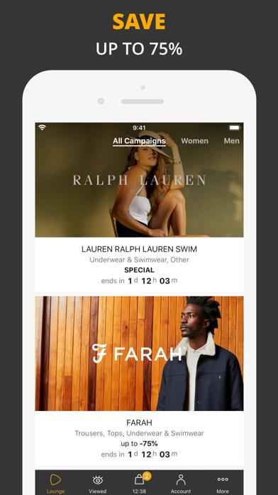 Zalando Lounge — Shopping Club screenshot one