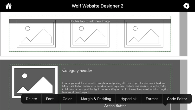 Wolf Website Designer 2 screenshot-6