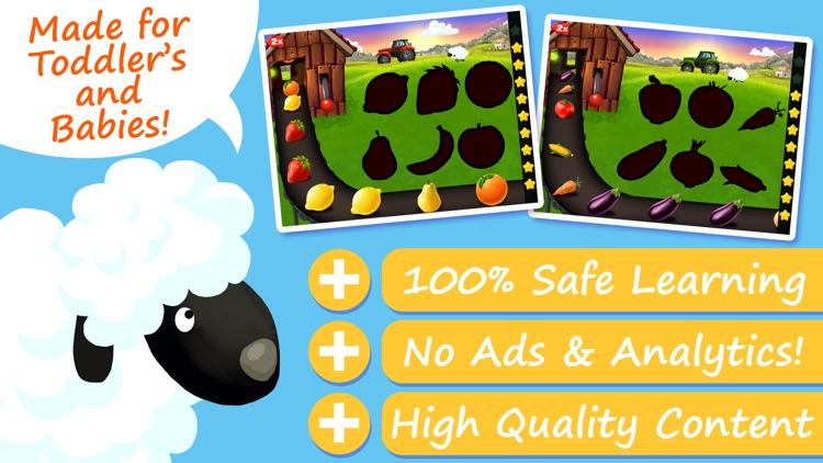 Shapes & Colors Farm Puzzles screenshot-0