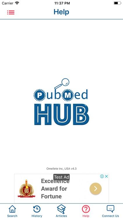 PubMed Hub screenshot-5
