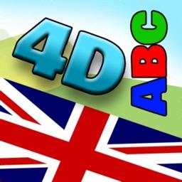 4D English Alphabet