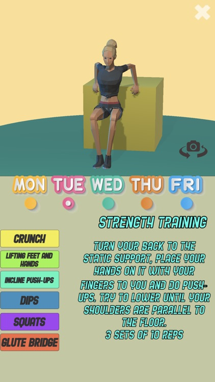 Fit Girl: Weight Loss Workout