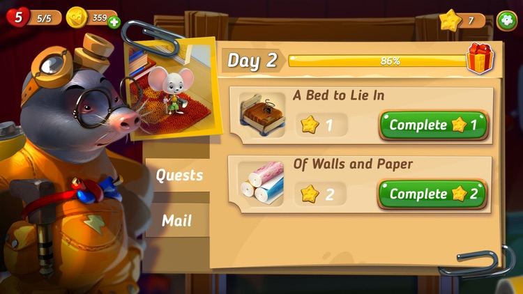 Mouse House: Puzzle Story screenshot-3