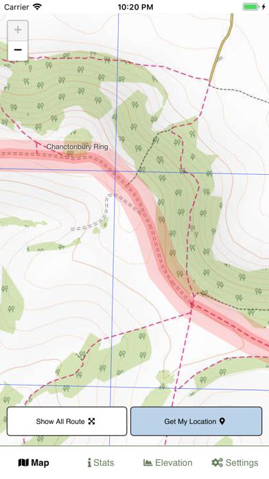 South Downs Way Map screenshot 4