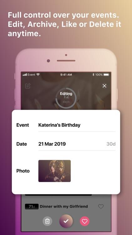 Eventer: Countdown