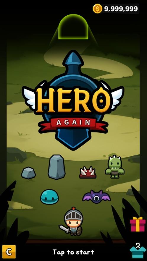 Hero Again App 截图
