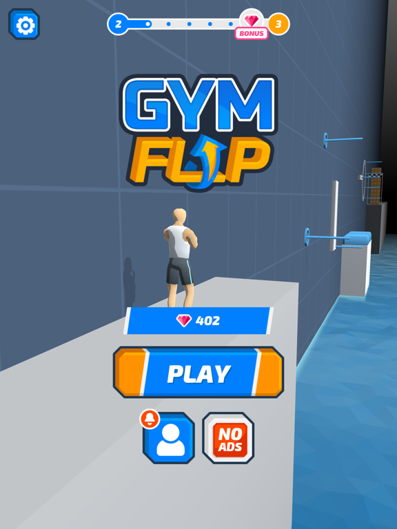 iPad Image of Gym Flip