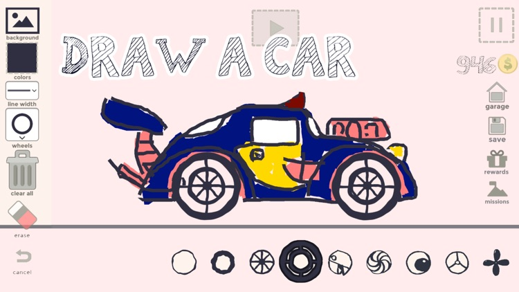Draw Your Car - Make Your Game