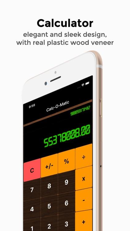 Retro Calc basic calculator screenshot-0