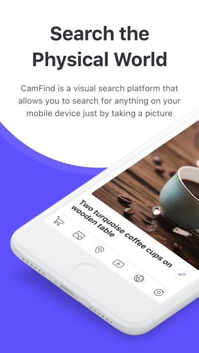 CamFind - Visual Search, QR Reader, Price Comparison & Barcode Scanner screenshot
