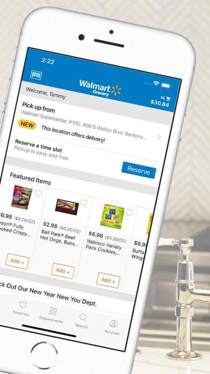 Walmart Grocery Shopping screenshot-3