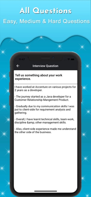 Interview Question & Answers on the App Store