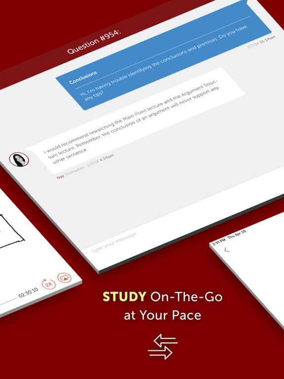 LSAT Prep & LSAT Test Practice Questions for Logic Games, Logical Reasoning & Reading Comprehension screenshot