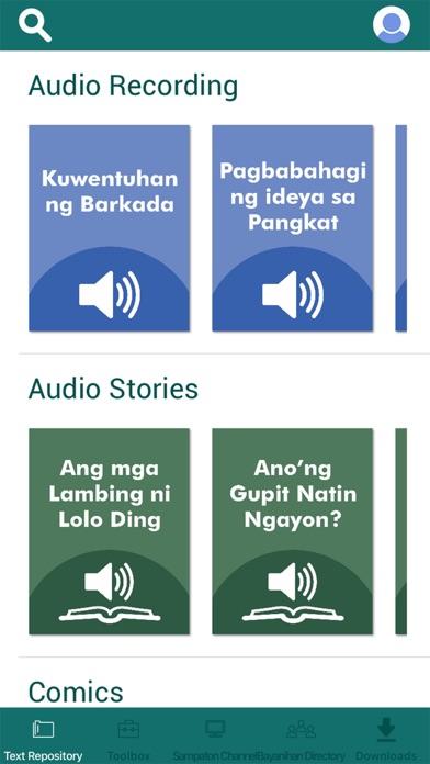 Lawas - HS Filipino Program Screenshot
