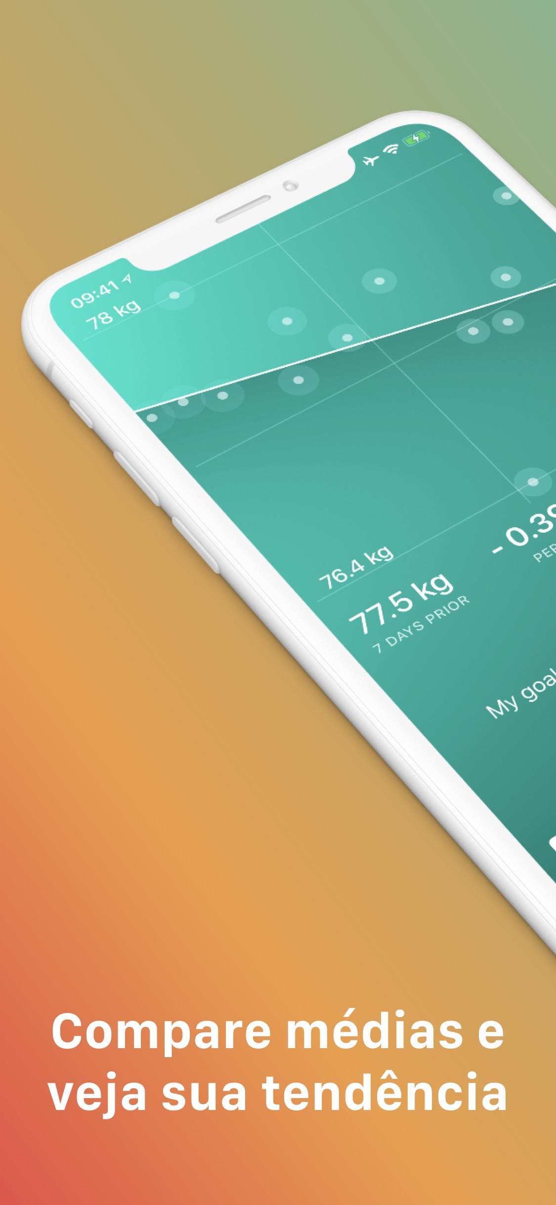 Screenshot do app Scelta Monitore Seu Peso Ideal
