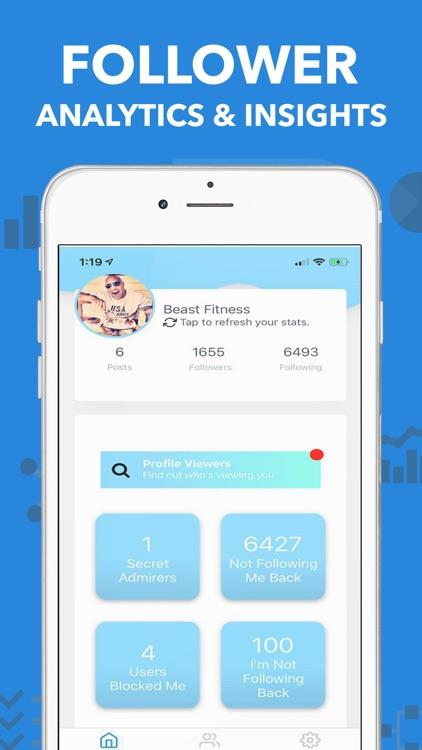 Sharp - Followers Tracker