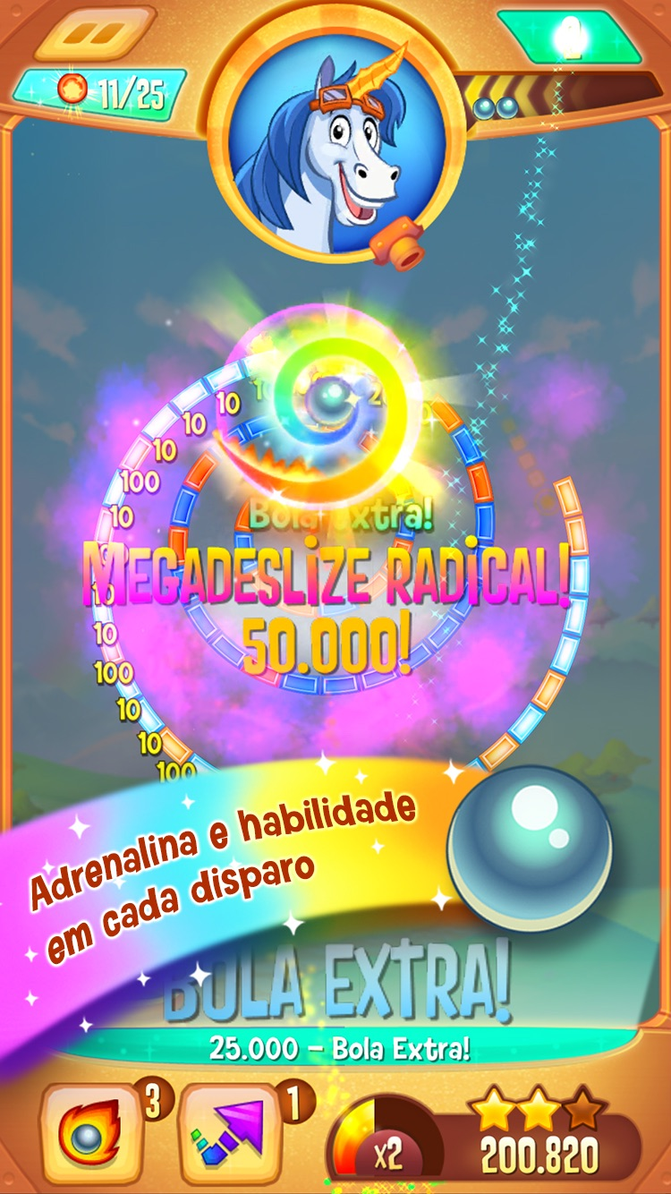 Peggle Blast Screenshot