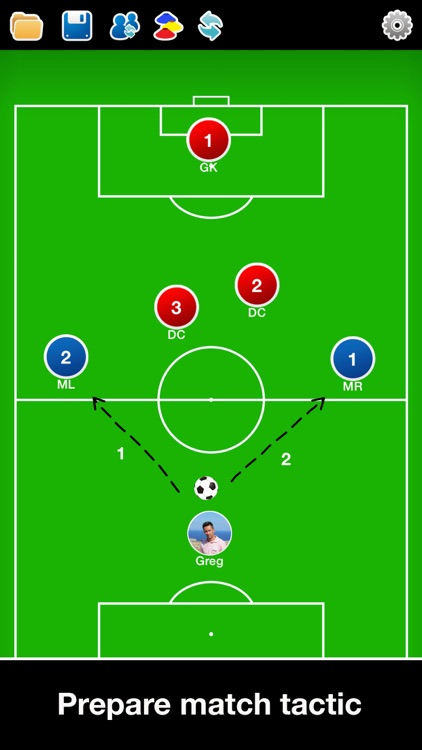 Coach Tactic Board: Soccer++ screenshot-0