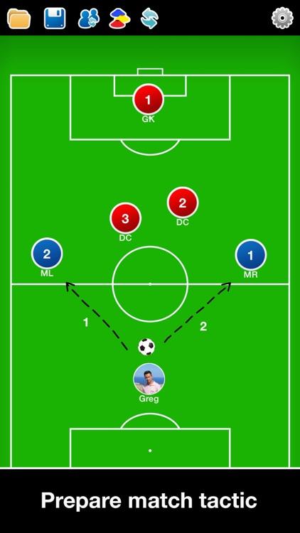 Coach Tactic Board: Soccer++