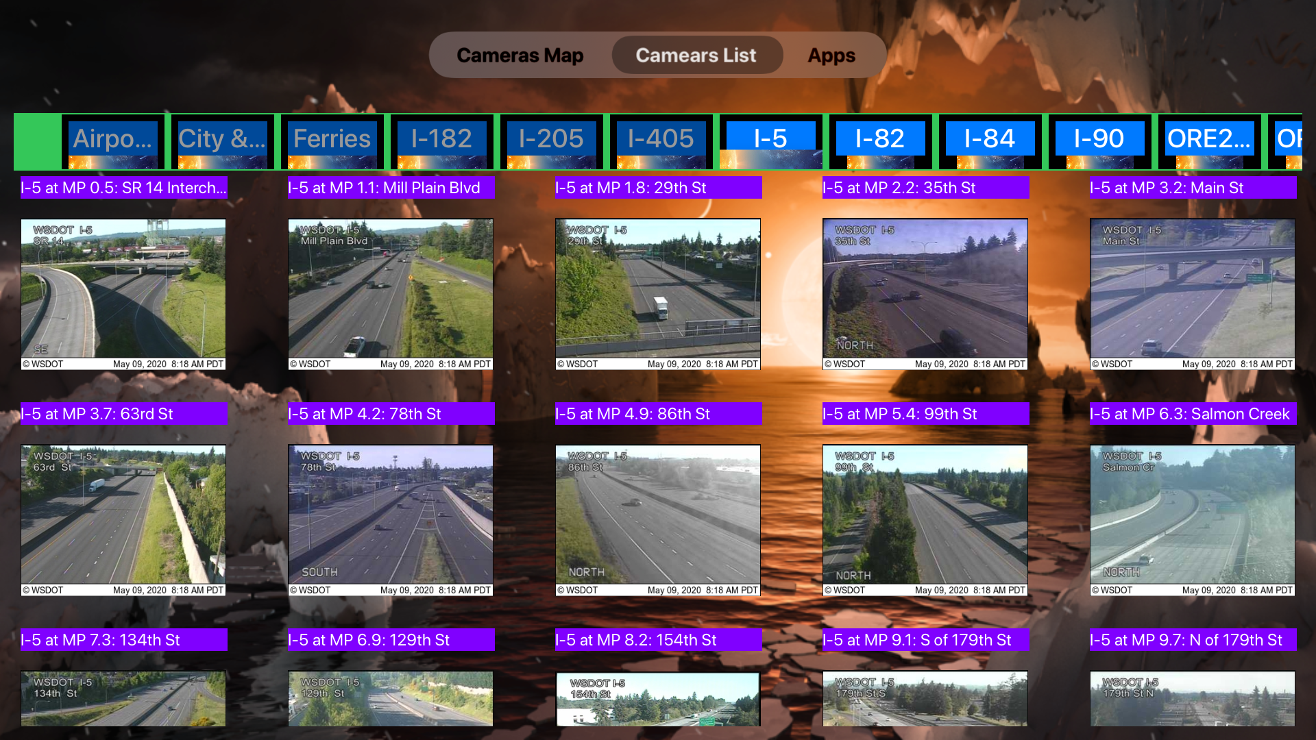 Traffic Camera Washington Pro screenshot 17