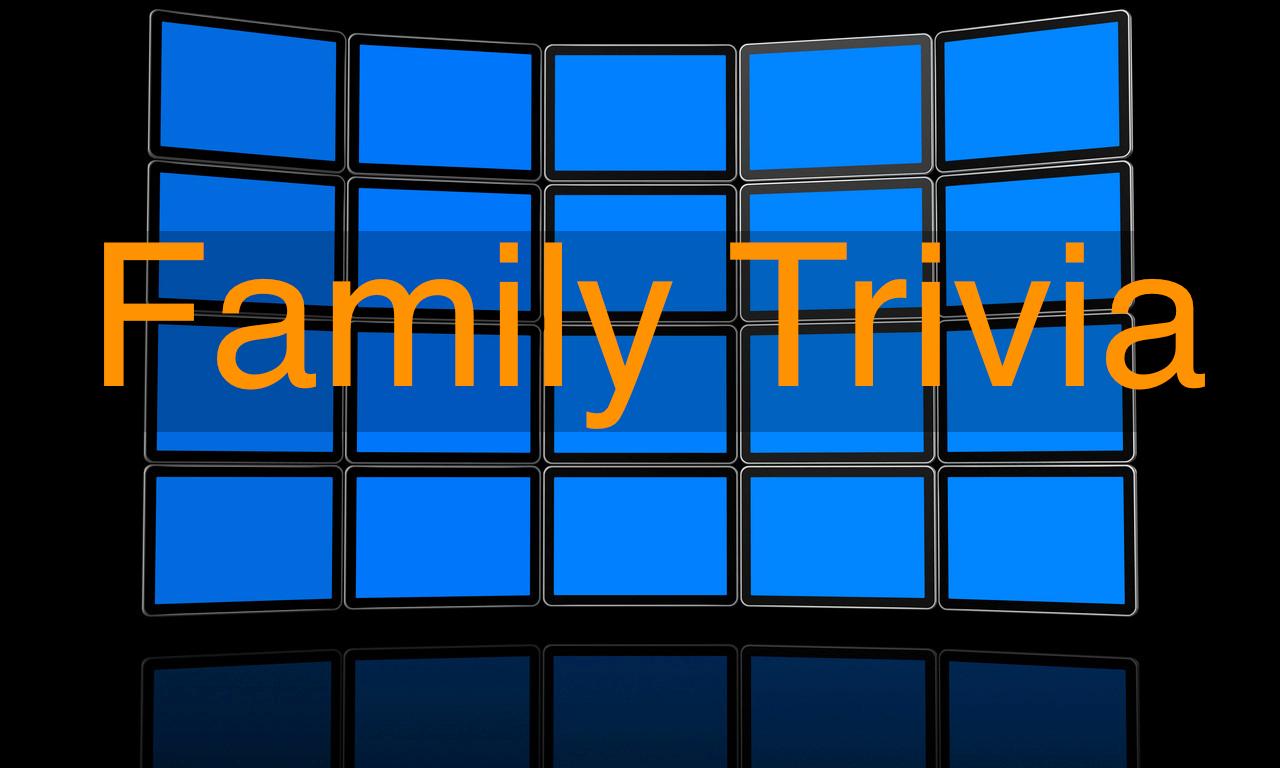 Family Trivia Night