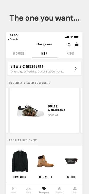 8e1d12ff5619 Farfetch  New Fashion Shopping 4+. Discover new season clothing