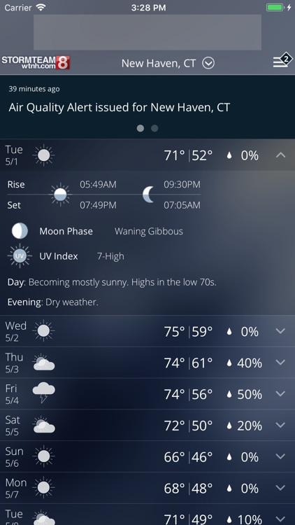 StormTeam8 - WTNH Weather screenshot-4