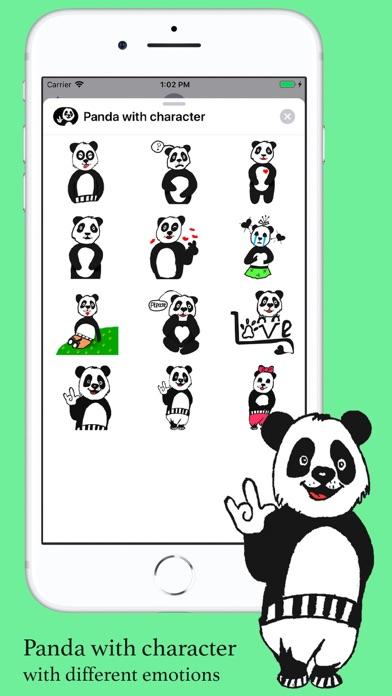 Panda with character screenshot 1