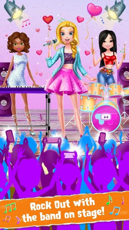 Rockstar Girls Adventure Game screenshot-3