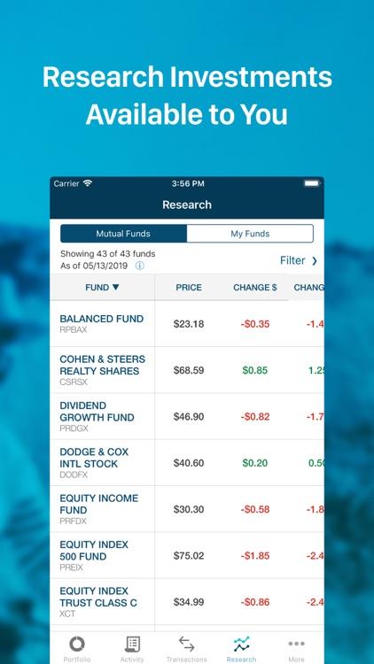 T. Rowe Price Personal® screenshot-3